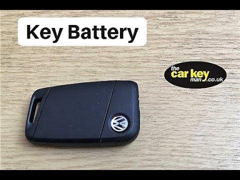 Volkswagen Passat Keyless Battery Change 2016 HOW TO
