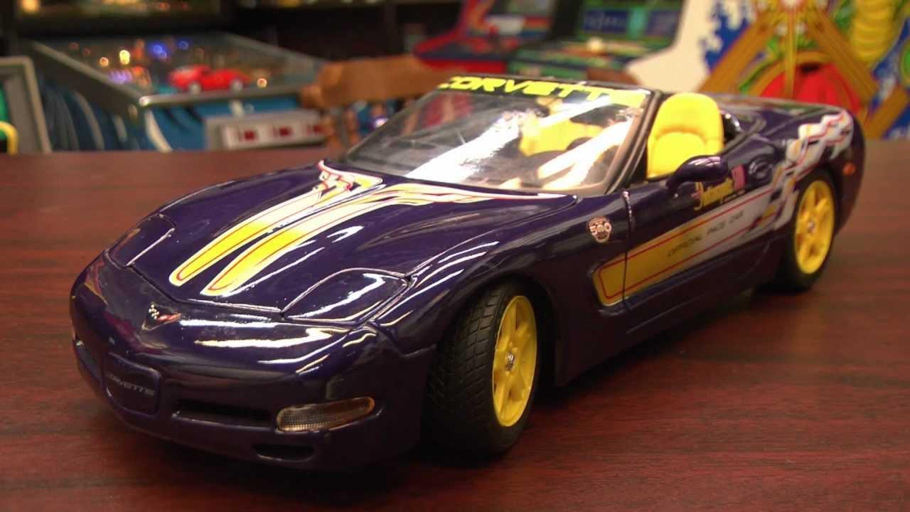 Diecast king maisto 1998 chevrolet corvette indy 500 pace car - Cgr Garage 1998 Corvette 1 18th Scale Maisto Car Review