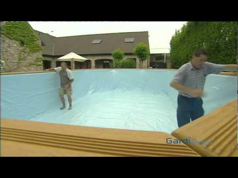 Montage piscine bois doovi for Piscine bois gardipool