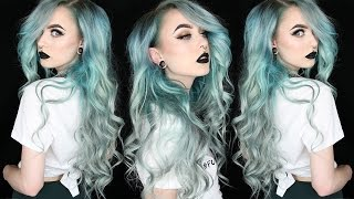 Big Curly Badass Hair Tutorial   Evelina Forsell