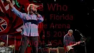 The Who 2015-04-15 Tampa Amalie Arena - I Cant Explain