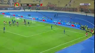 Mohamed Salah Mısır adına kornerden inanılmaz bir gol attı