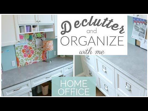 Home Office Declutter and Organization | Declutter with Me