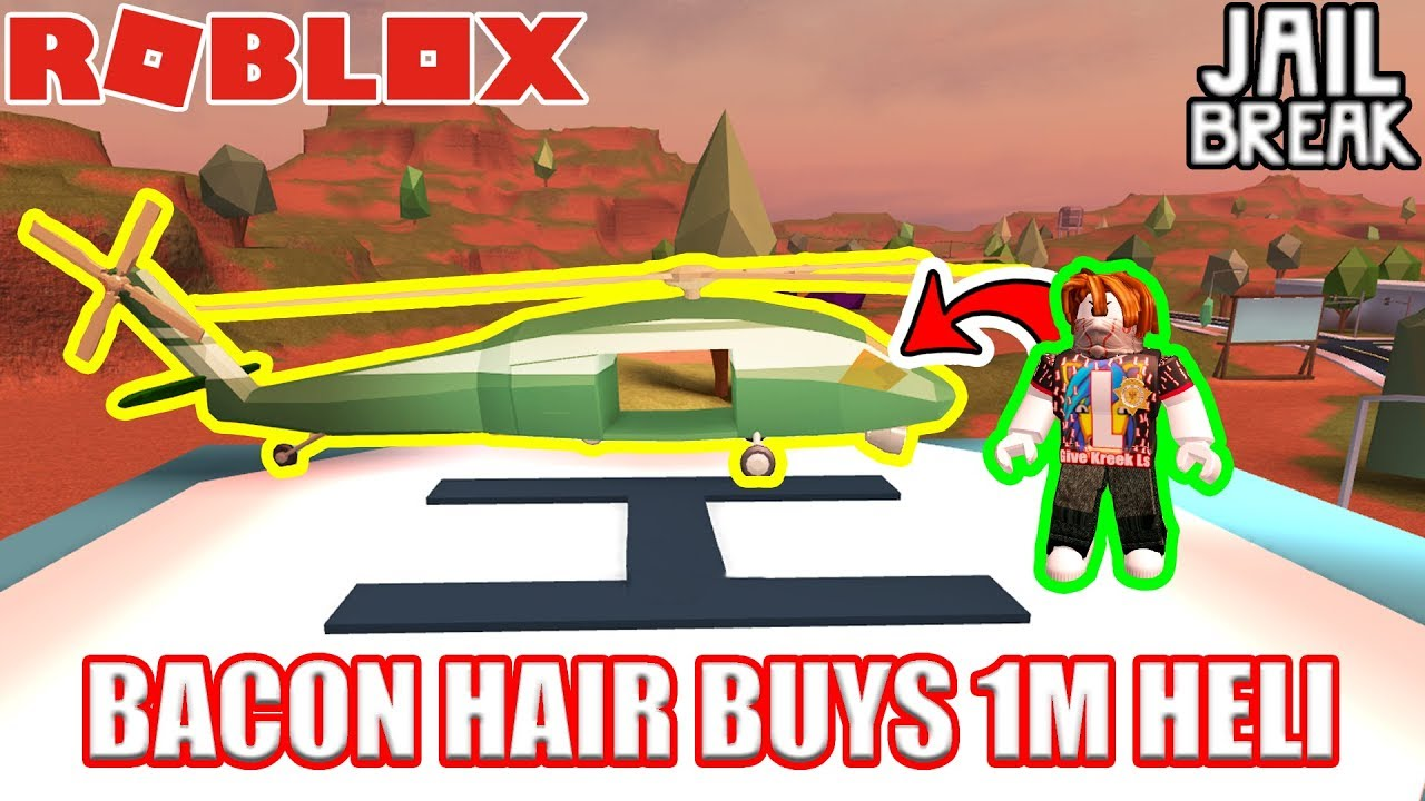 BACON HAIR Buys ARMY HELICOPTER??!!!