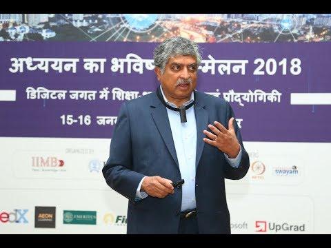 FoL 2018 Inaugural Plenary by Nandan Nilekani - Lifelong Learning in a VUCA world