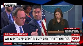 BEASTMODE: Sarah Sanders blasts Hillary Clinton's excuse-making
