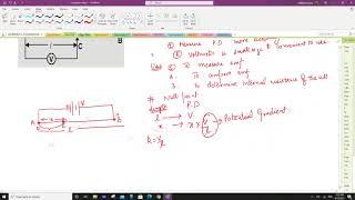 Class 12 potentiometer Physics