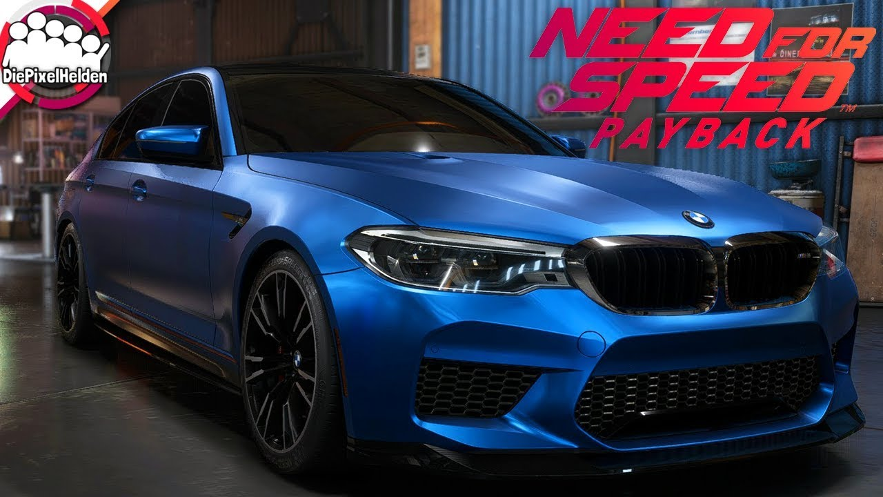 Need For Speed Payback Bmw M5 F90 Runnerbuild Nfs