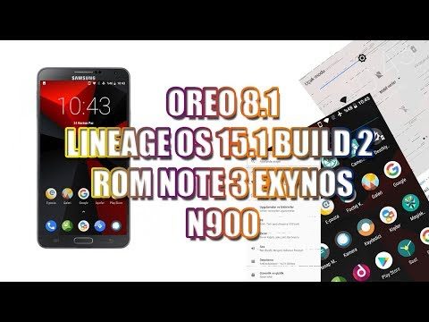 Lineage os 15 1 on galaxy note 3 n900 exynos by All about technology