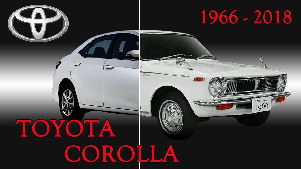 Toyota Family Toyota Corolla Evolution 1966 2018