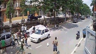 MXH rụng rời với clip hỗn chiến dao, súng như phim ở Nam Định