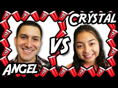 Angel VS Crystal - Mystery Drink Arcade Challenge