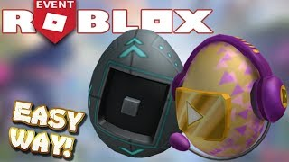 HOW TO GET THE EGGMIN AND VIDEO STAR EGGS RIGHT NOW! (ROBLOX EGG HUNT 2019 GLITCH)