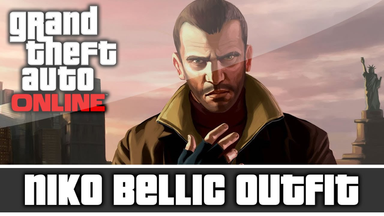 Gta 5 Online Niko Bellic Outfit And Customization