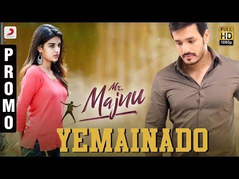 Mr. Majnu - Yemainado Song Promo (Telugu) | Akhil Akkineni | BVSN Prasad | Thaman S | Venky Atluri