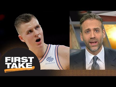 Max says Kristaps Porzingis will never win NBA championship with Knicks | First Take | ESPN