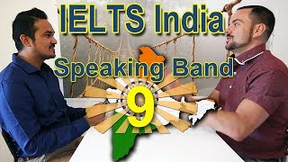 IELTS India Band 9 Speaking - Perfect Score! with Subtitles