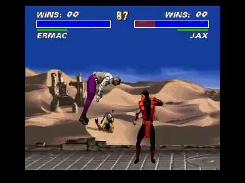 Ultimate Mortal Kombat 3 UMK3 Juggle combos, Glitchs and Weirdness - Neixans.