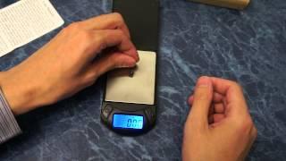 Обзор китайских электронных весов с точностью 0,01г
