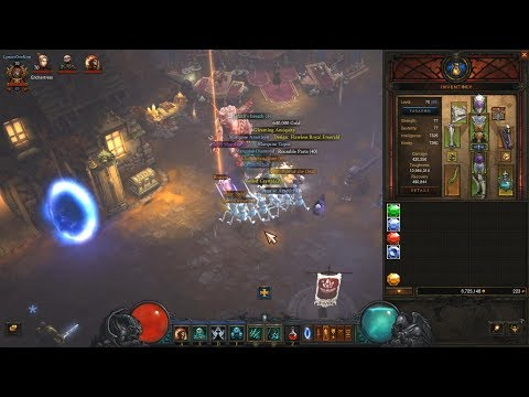 021: Bounty for Grandeur, Diablo 3, S19