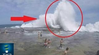 خطير جدا : إذا رأيت أمرا كهذا يحدث في البحر  إهرب وانج بحياتك..