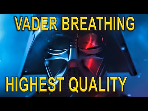 Darth vader breathing - highest quality on youtube HD