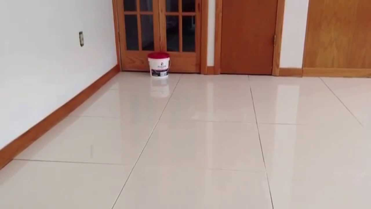 How to grout teppo interiors white polished porcelain tile 24 teppo interiors white polished porcelain tile 24x24 size oberlin ohio youtube dailygadgetfo Image collections