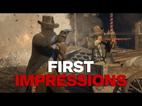 World's First Look at Red Dead Redemption 2 (Impressions)