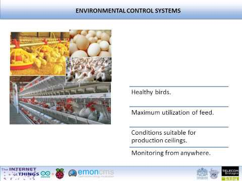 Internet of Things - Environmental control in poultry production (TEC Monterrey - Telecom Bretagne)