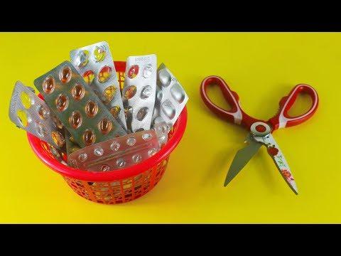 ঔষুধের খালি প্যাকেট দিয়ে অসাম আইডিয়া   Amazing Craft Ideas With Empty Medicine Packets