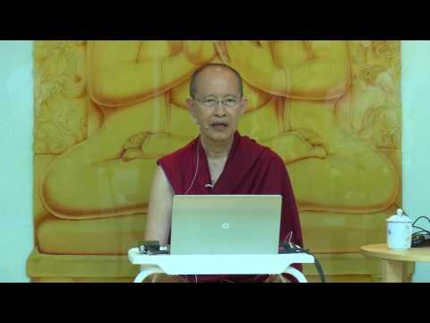 Understanding Dependent Origination (Session 1 of 6) - Ven Tenzin Palzang - 20170610