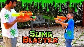 SLIME BLASTER CHALLENGE - Leo Toys