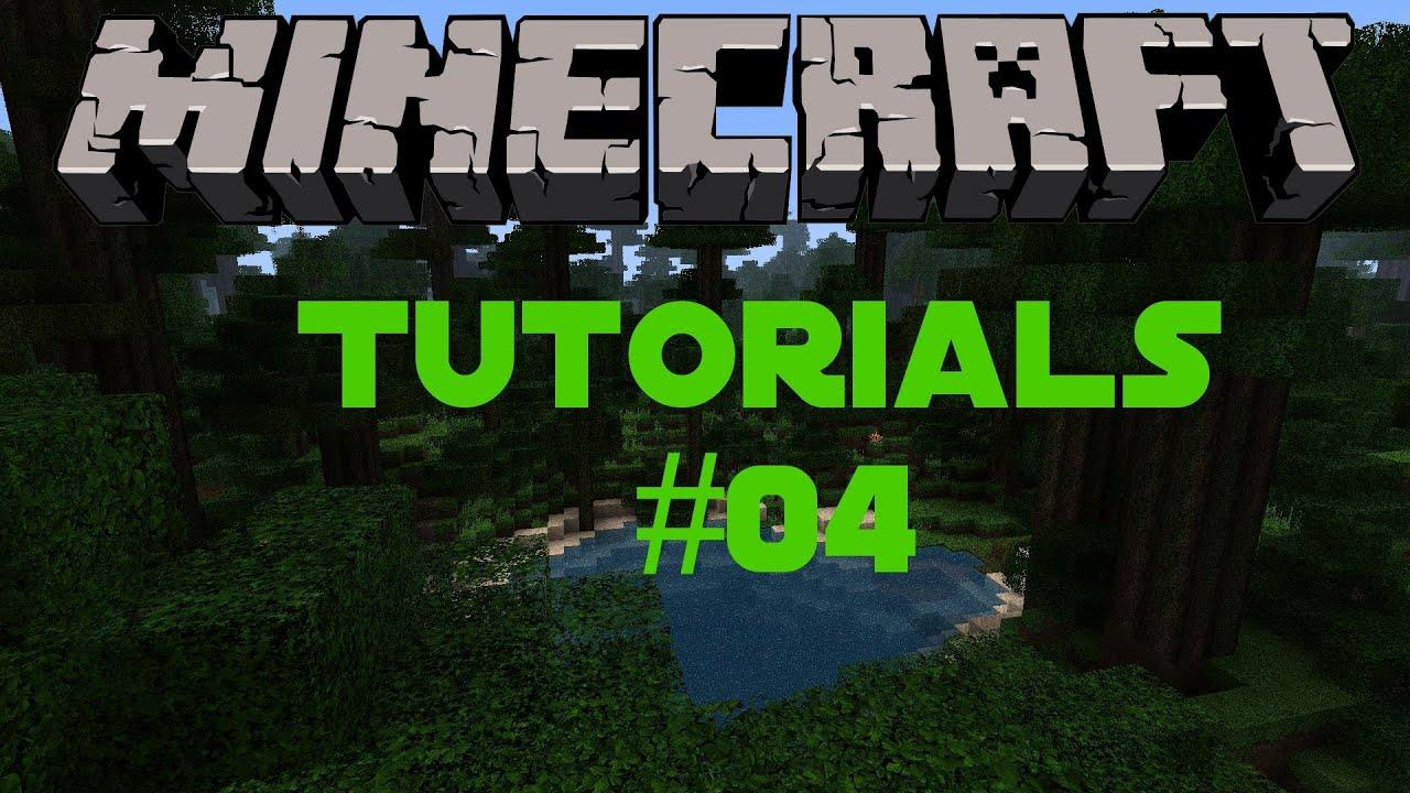 Minecraft Tutorial 04 Zaune Zauntore Youtube
