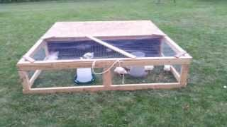 Easy Diy Homemade Chicken Tractor On Wheels