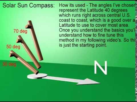 diy Sun Compass