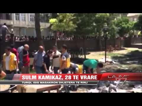 Sulm kamikaz në Turqi, 28 të vrarë - News, Lajme - Vizion Plus