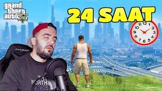 24 SAAT ARALIKSIZ GTA 5 OYNADIM !