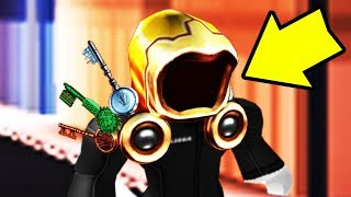 GETTING THE GOLDEN DOMINUS IN ROBLOX!! (Ready Player One Event Copper Key)