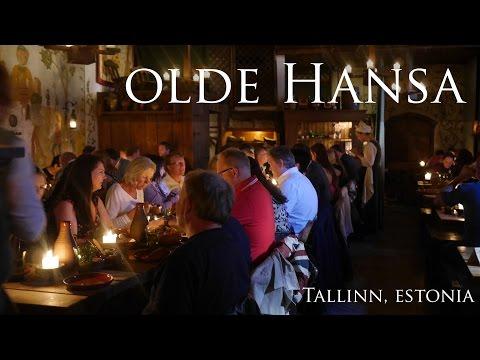 MEDIEVAL DINNER: Olde Hansa Tallinn, Estonia