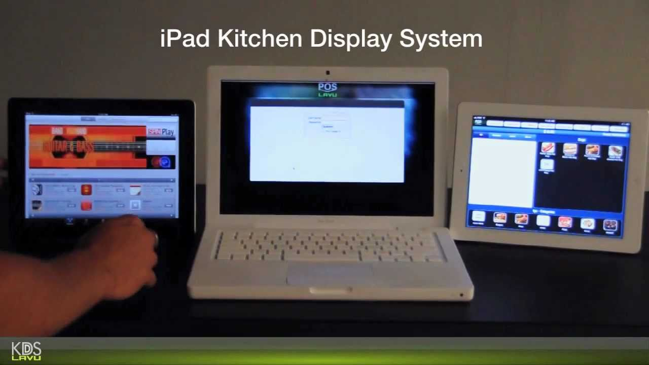 KDS Lavu - iPad POS Kitchen Display Set Up - YouTube