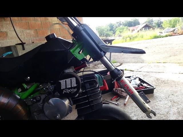 Pocketbike Tuning 75cc Metrakit E50 lg1  Gabel upgrade EBR