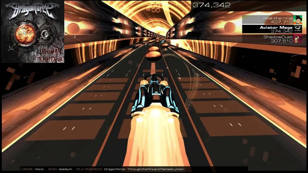 AudioSurf 2: Through the Fire and Flames by DragonForce ...