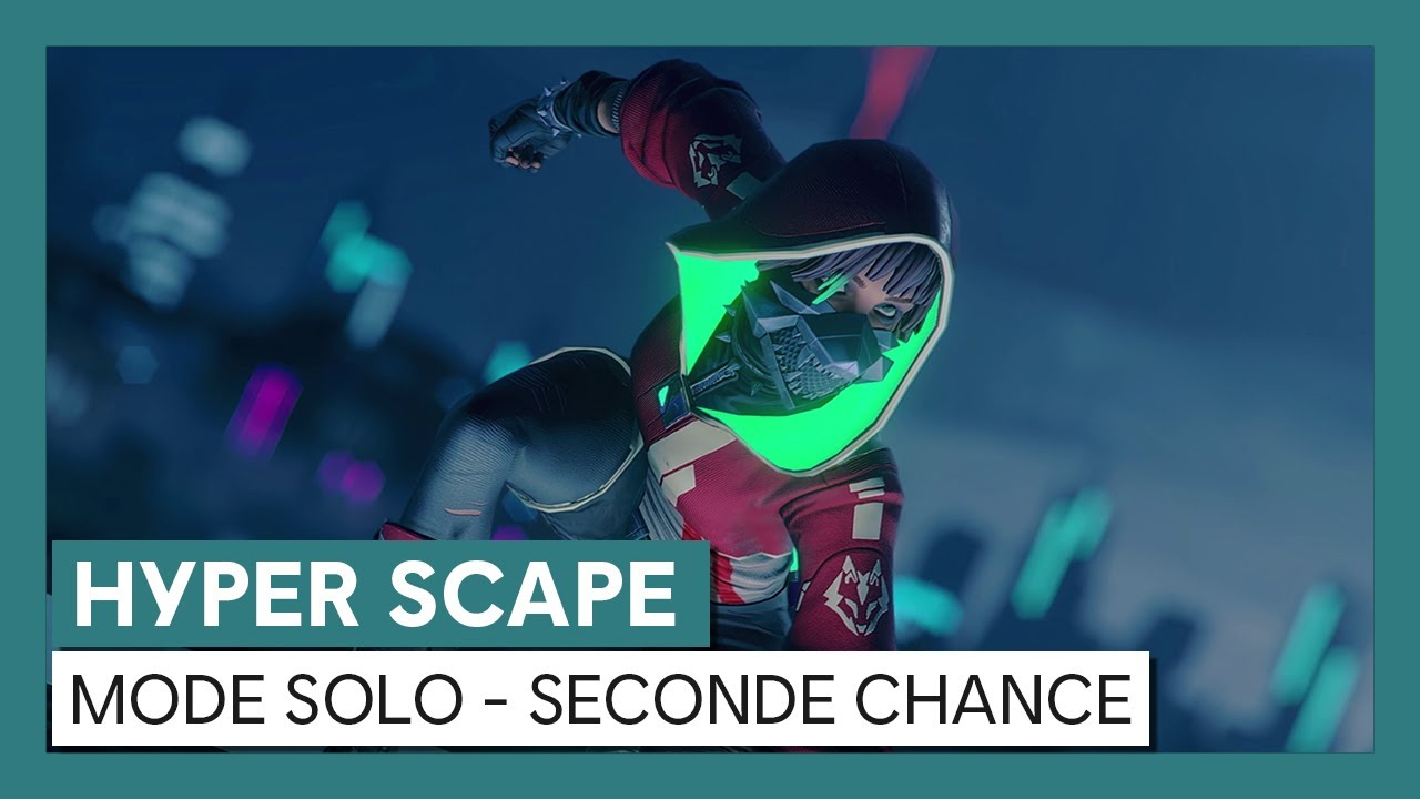 HYPER SCAPE - Mode solo : Seconde chanceOFFICIEL