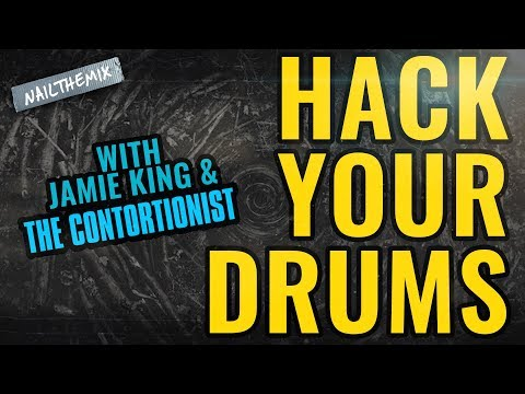 Hack your drum tones w the frequency analyzer [w/ Jamie King + The Contortionist]