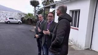Visita al tanatorio municipal de La Orotava después de las obras de reforma