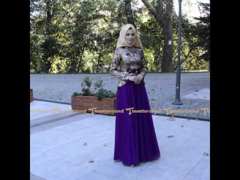 2ff2effec464d Tesetturisland.com | Tesettürlü Abiye Elbise - Mor Abiye Elbise ...