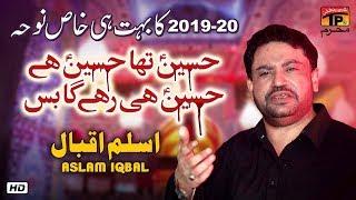 Hussain Tha Hussain Hai | Aslam Iqbal | New Noha 2019 | TP Muharram