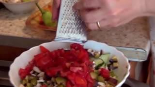 Салат витаминный Армянская кухня