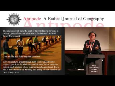 Antipode Annual Lecture: Provisioning the Provisional