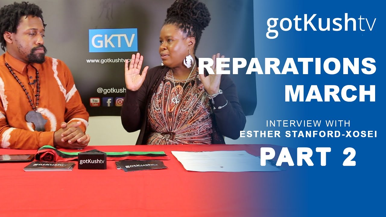 REPARATIONS UK: Why We Petition The Government • Esther Stanford-Xosei Interview part 2